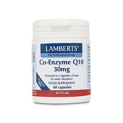 Lamberts Co-Enzyme Q10 30mg Capsules (60)