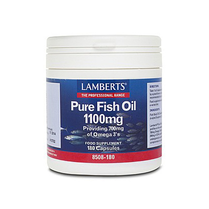 Lamberts Pure Fish Oil Capsules (120)